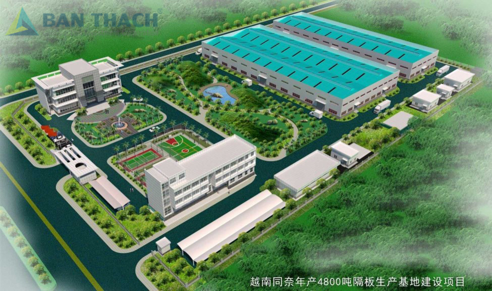 Nhà xưởng sản xuất Sinoma