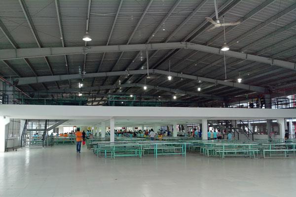 Nhà xưởng - Công ty TNHH Freetrend Industrial A VN