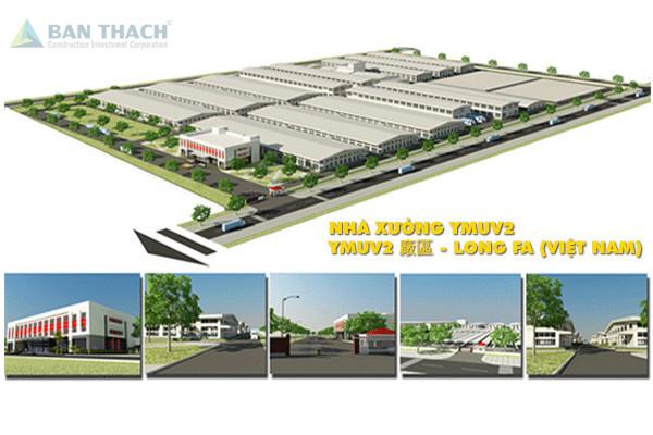 Nhà xưởng YMUV2 Công ty TNHH Long Fa Việt Nam